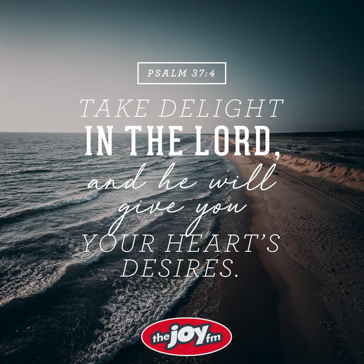 Psalm 37:4 - Verse of the Day