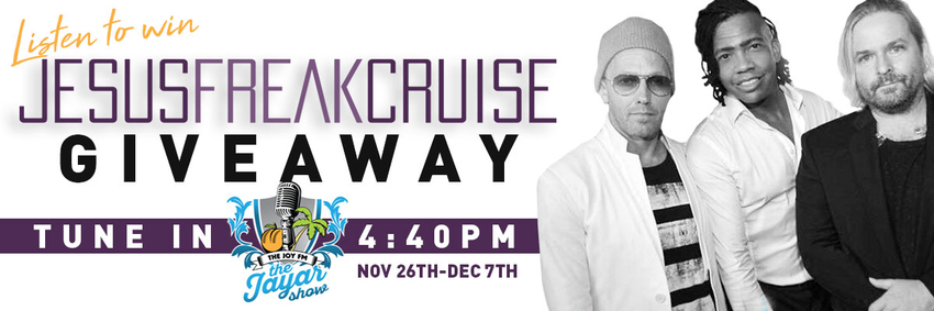 Win a cabin on the Jesus Freak Cruise!