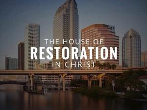 The House Of Restoration In Christ Logo