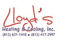 Lloyd's Heating & Cooling, Inc. Logo
