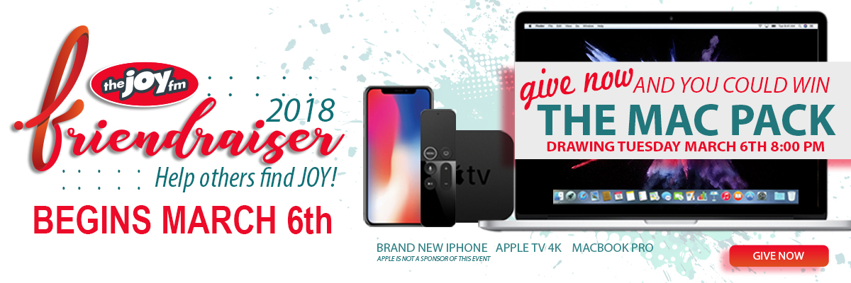 Give Now and You Could Win!
