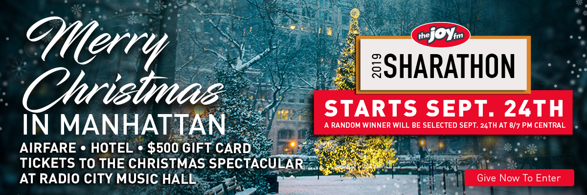 Win a Merry Christmas in Manhattan
