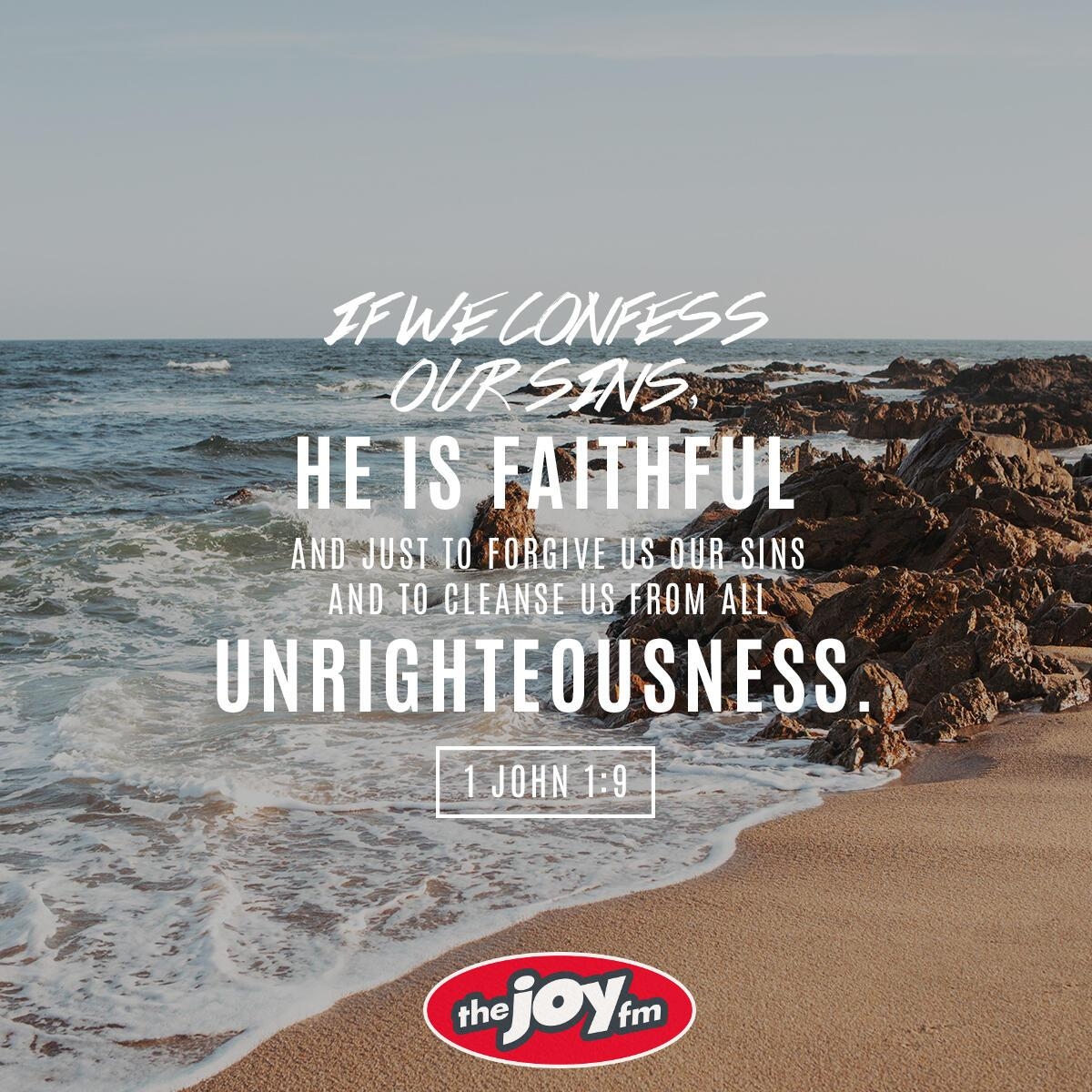 1 John 1:9 - Verse of the Day