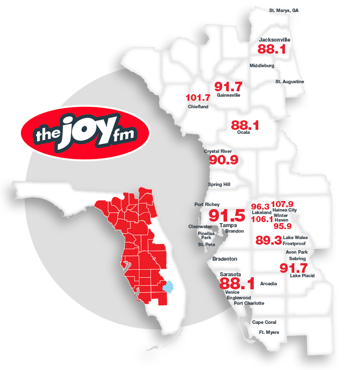 Listen Live Options | The JOY FM - Positive & Encouraging Christian