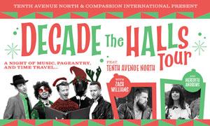 Decade The Halls Tour December