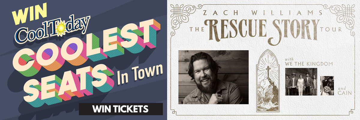 Win the Coolest Seats in Town - Zach Williams