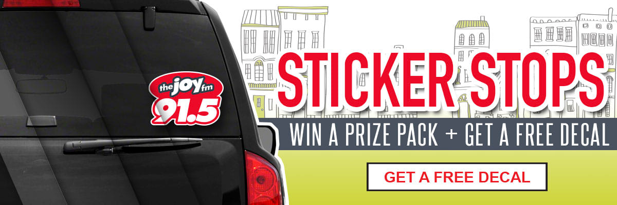 Win a prize pack + get a free decal!