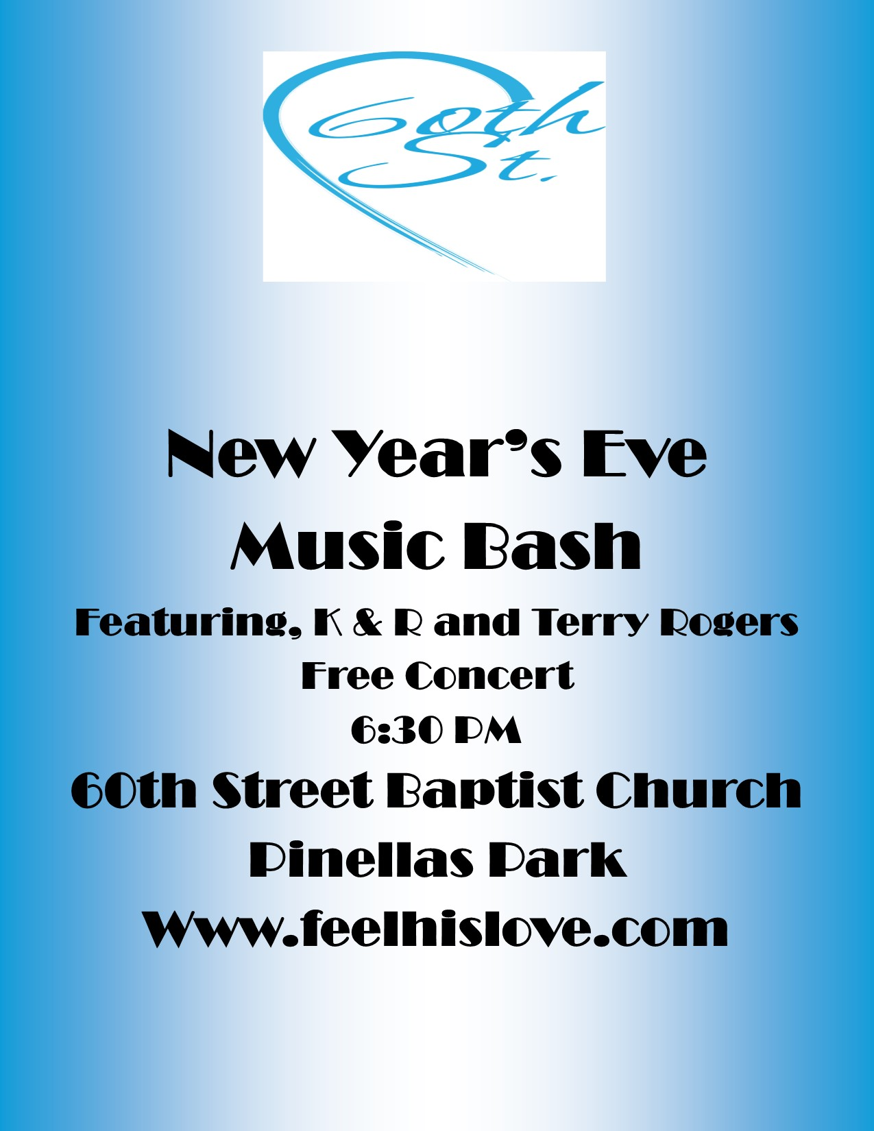 New Year's Eve Music Bash Logo